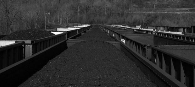 A coal train in West Virginia. (Photo by Cori Martin, CC License)