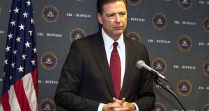 New York Times reported on May 10 that James Comey was fired after he sought more resources for the F.B.I.'s Russia investigation. (Photo by Rich Girard, CC license)