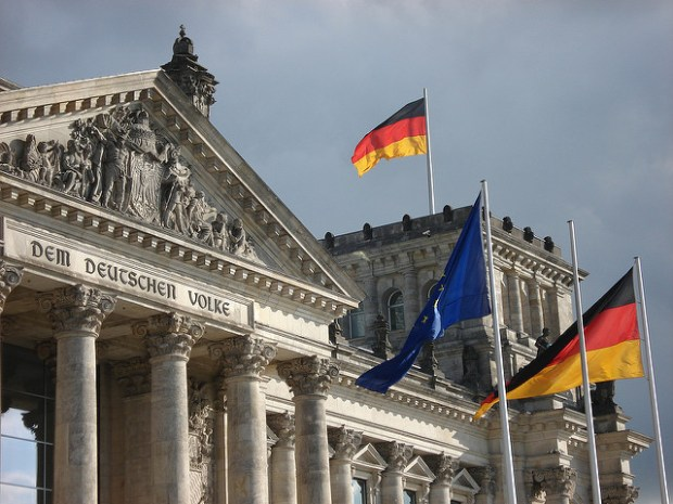 The historic Reichstag building in Berlin which houses German Parliament. (Photo by Simon Varwell, CC license)