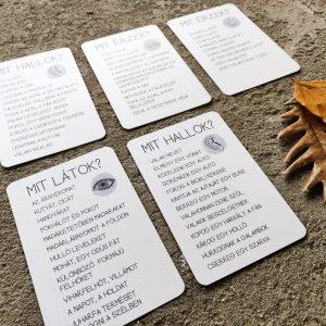Őszi barangoló 2. kiadás - érzék kártyák