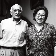 Betty Cuenca y Manuel Zambrano