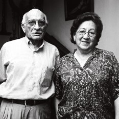Betty Cuenca y Manuel Zambrano
