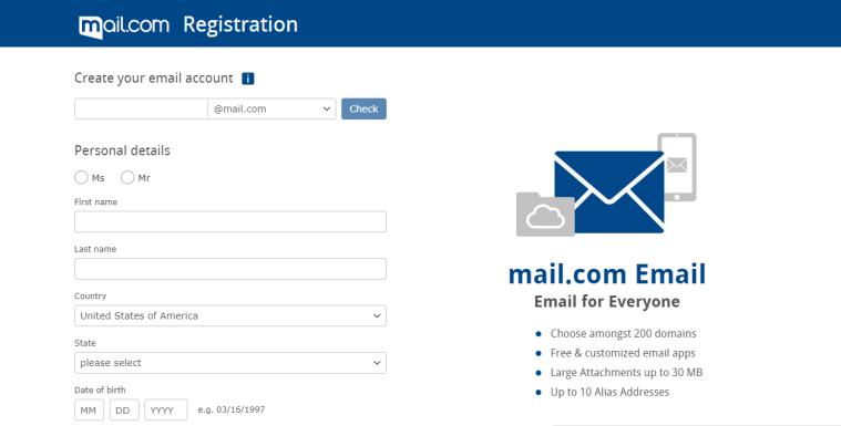 אימייל עסקי חינם