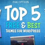 5 Best Free Responsive WordPress Themes 2020