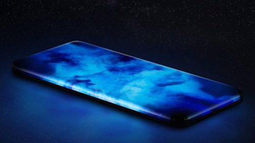 Xiaomi's Shows Off Smartphone With Displayed Curves on All Sides
