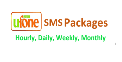 Find code Ufone SMS Packages Daily Weekly Monthly