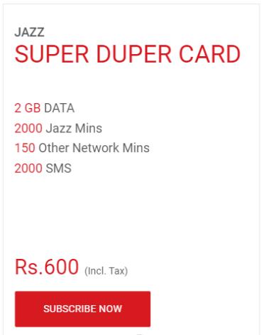 Jazz Monthly Super Duper Card Code
