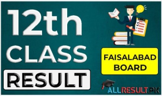 12th Class Result 2021 BISE Faisalabad Board