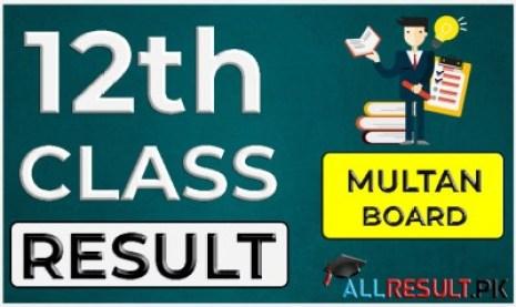12th Class Result 2021 BISE Multan Board
