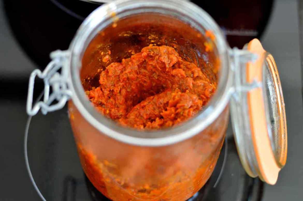 ajvar finished