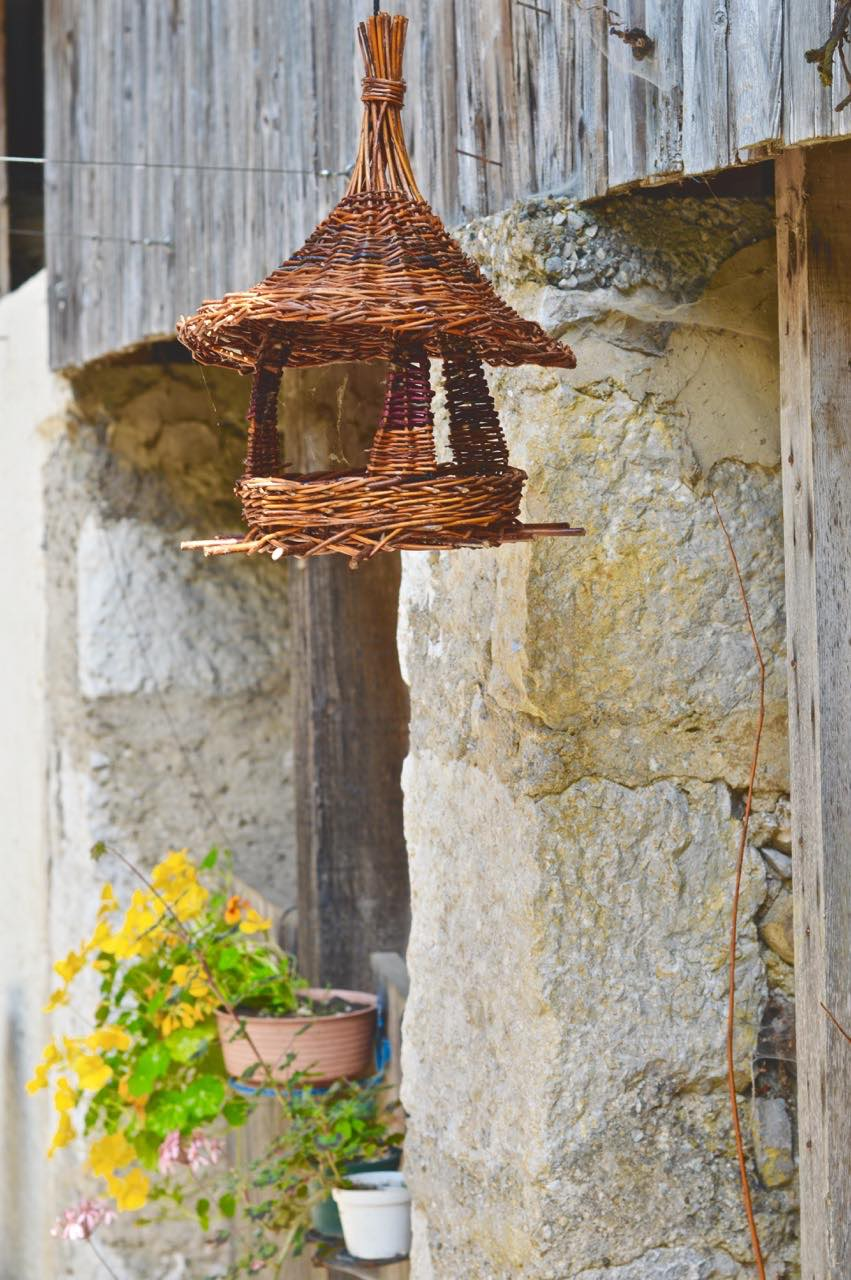 bird house ferme lespinasse plantes sauvage comestible