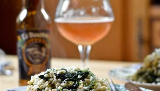 Gortotto – barley risotto with radishes