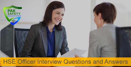 Safety Officer Interview Questions and Answers