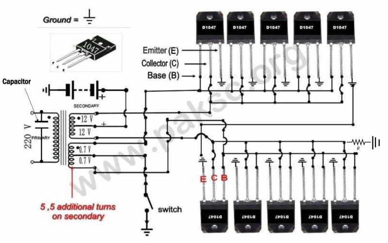 500 watt 12 vdc to 220 vac power inverter (ups) construction in urdu500 watt inverter schematic diagram