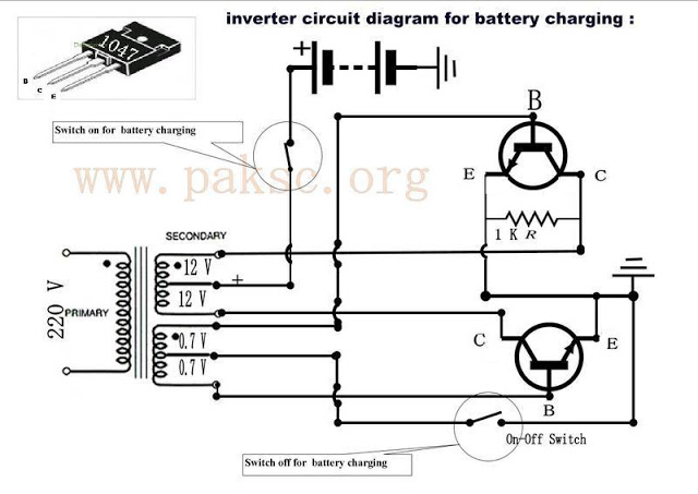 circuit battery charging diagram 8