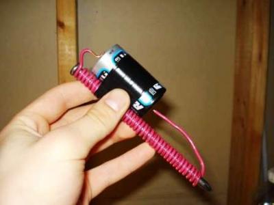 How to Make an Electromagnet (Urdu English)