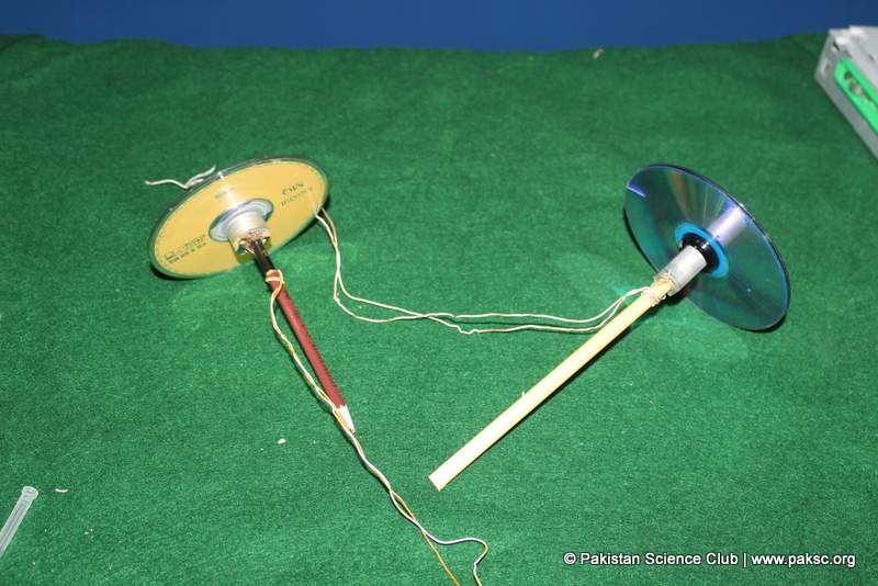 An other design of Simple Gyroscope with three Cd's