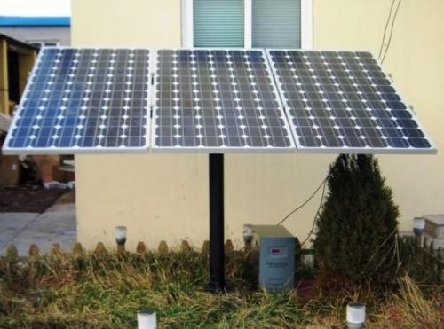 Solar Electricity use on Domestic-scale (Urdu)