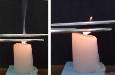 Experiment: Is heat is necessary for burning?