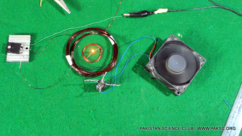 Wireless electricity transfer project (1)