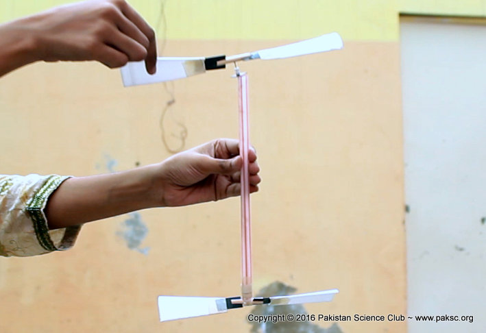 How To Make Rubber Band Powered Helicopter