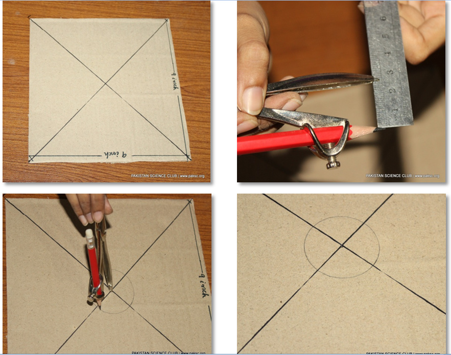 To make a simple wind mill, following material are required.