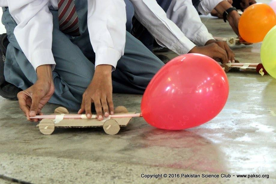 how to make balloon powered car very simple