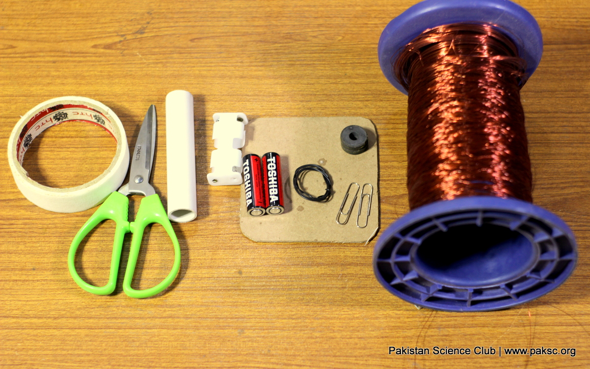 Make a Simple DC motor with easy and Step by Step instructions