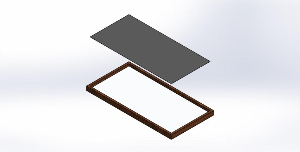fixing metal sheet