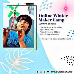 Online winter camp