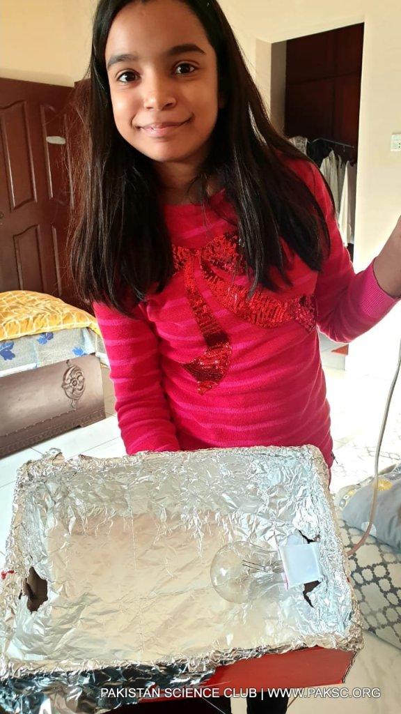 Liza working on Rome Heater
