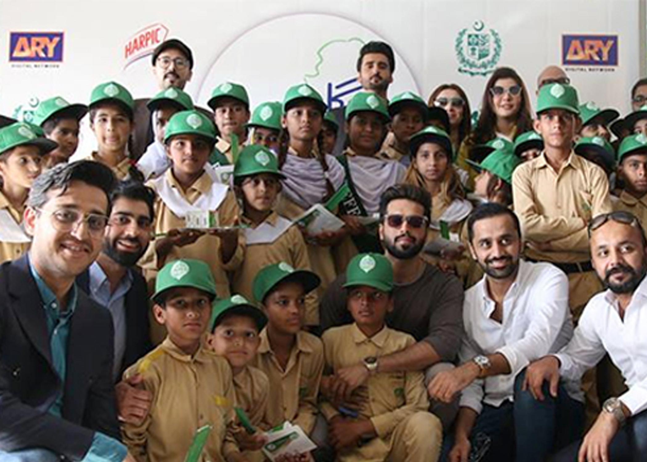 "Image result for Fahad Mustafa Opens Up About His Ambassadorship for ""Hoga Saaf Pakistan"""