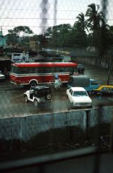 Karachi: vue de l'hotel Amin House