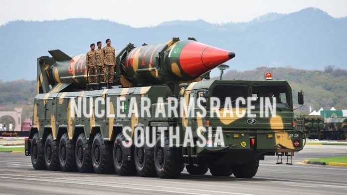 Nuclear Arms Race in South Asia (Shaheen-II Missile)