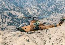 Acquiring The Punch: Cobra Gunship Helicopter