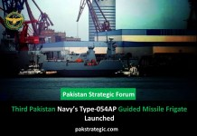 Pakistan Navy's Type-054AP Guided Missile Frigate