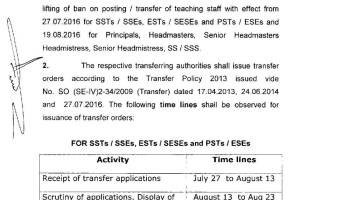 Principal,SS,SST Required in District Public School and