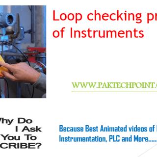 loop checking procedure