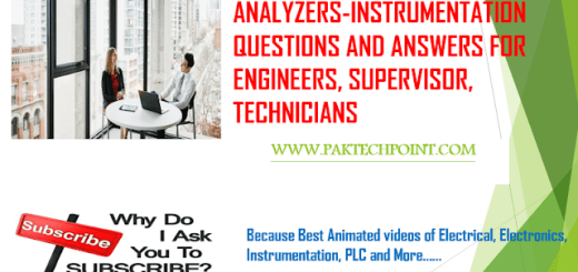 ANALYZERS INSTRUMENTATION QUESTIONS AND ANSWERS