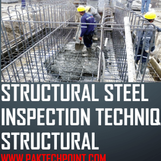 structural steel inspection procedure