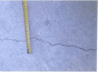 Crack repair of concrete paving