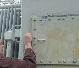 oil leak repair transformer