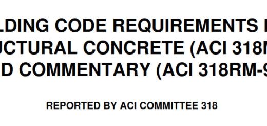 BUILDING CODE REQUIREMENTS FOR STRUCTURAL CONCRETE (ACI 318M-95) AND COMMENTARY (ACI 318RM-95)