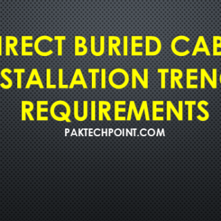 direct buried cable installation