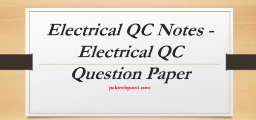 Electrical QC NotMOTORS AND GENERATOR QC QUESTIONS, SUBSTATION QC QUESTIONS, CABLES QUESTIONS