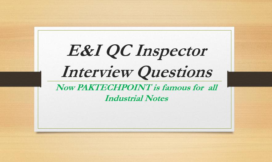 qa qc electrical engineer duties, electrical qc inspector course, qa qc inspector e&i