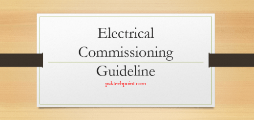 electrical commissioning guidelines