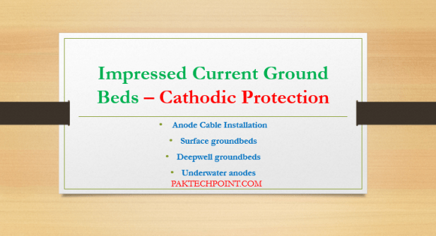 Impressed Current Ground Beds, Anode Cable Installation