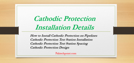 Cathodic Protection Installation Details, How to Install Cathodic Protection on Pipelines