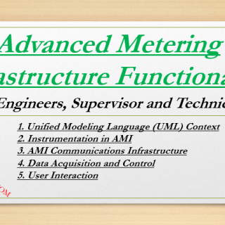 Advanced Metering Infrastructure Functionality